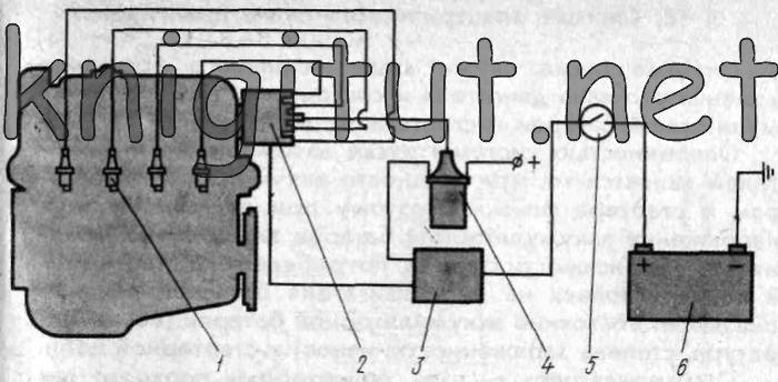 Двигатель газ 402 датчики