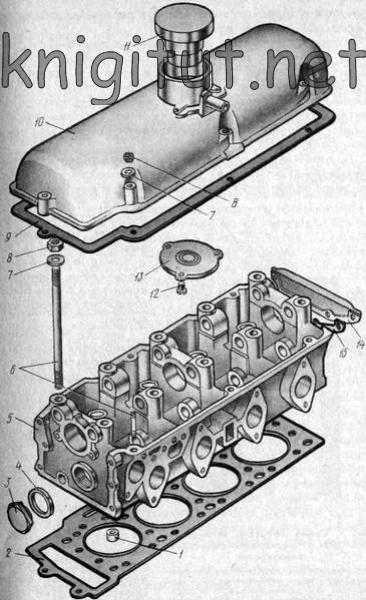 двигателя «Москвич-412»: