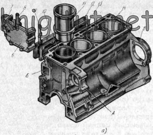 двигателя «Москвич-412»